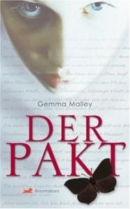 Gemma Malley: Der Pakt, 301 S. Bloomsbury. 2007