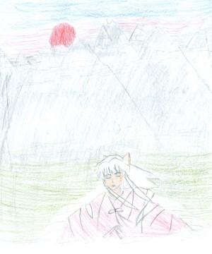 Inu Yasha gemalt von Luap