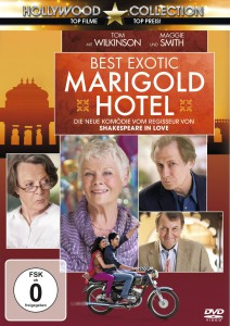 Marigold Hotel, DVD, brit. Komödie, 2012